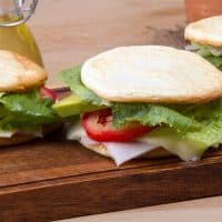 Easy Low Carb Keto Breakfast Sandwich