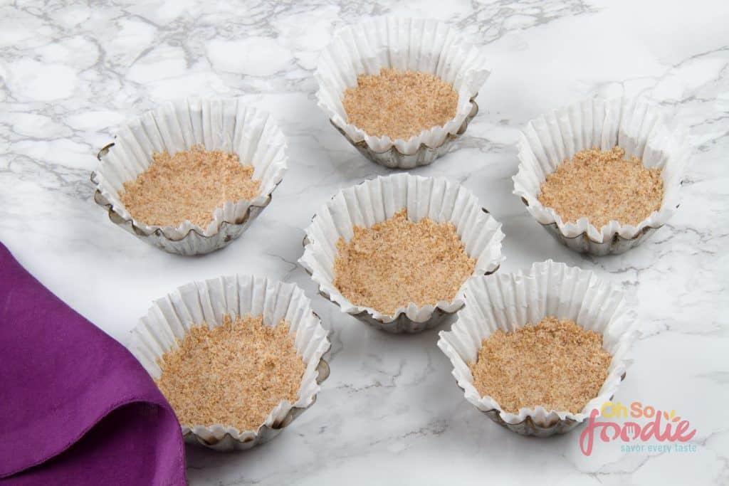 keto almond flour cheesecake crust