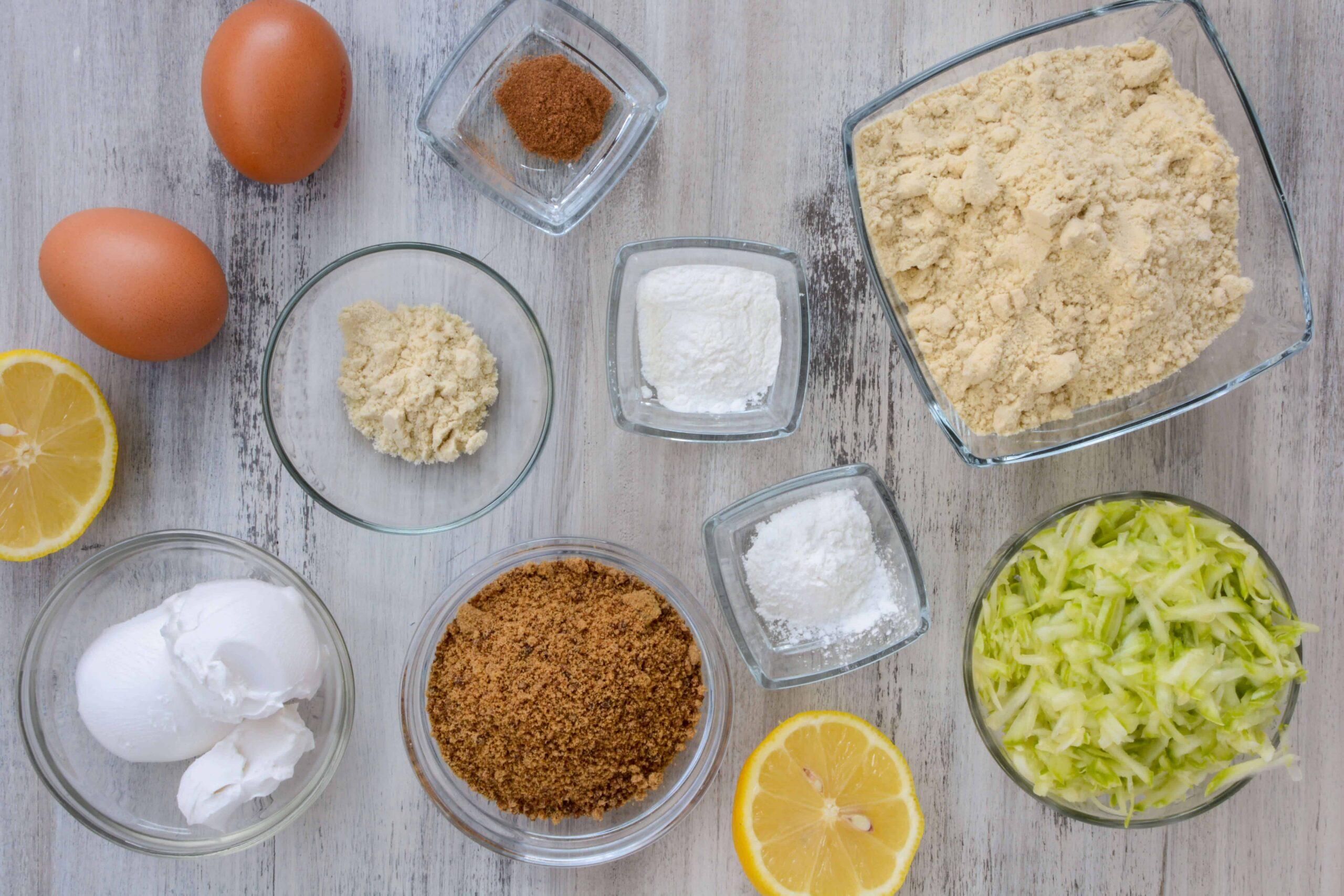 ingredients to make keto apple pie