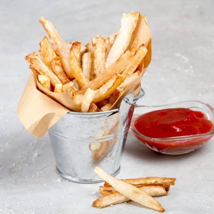Keto Jicama Fries
