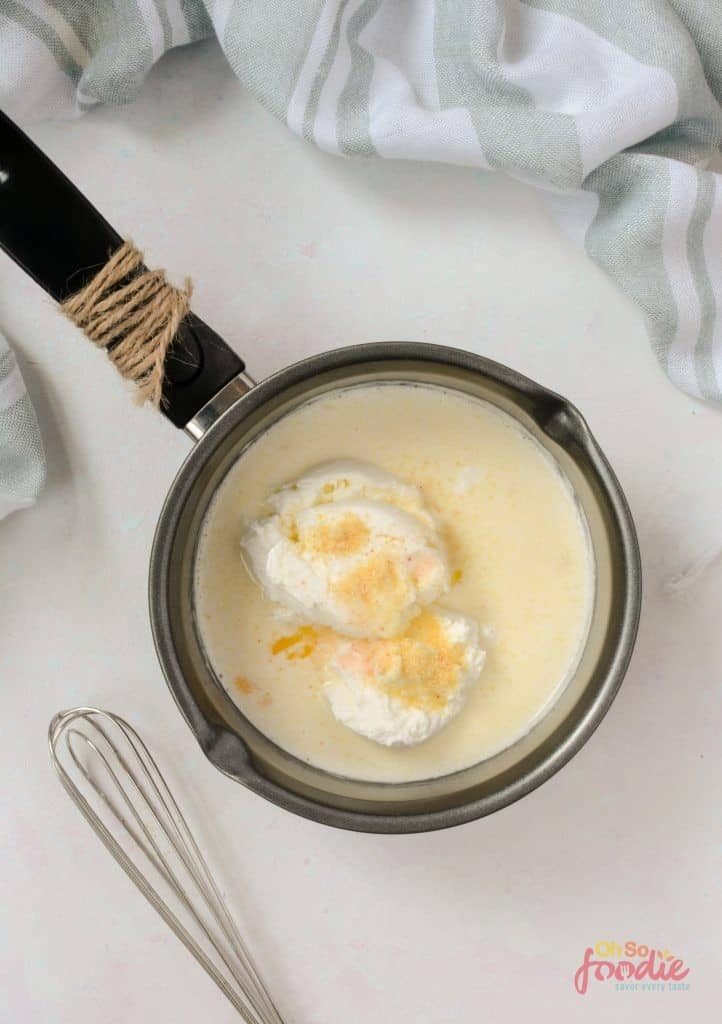 cheese sauce with heavy cream