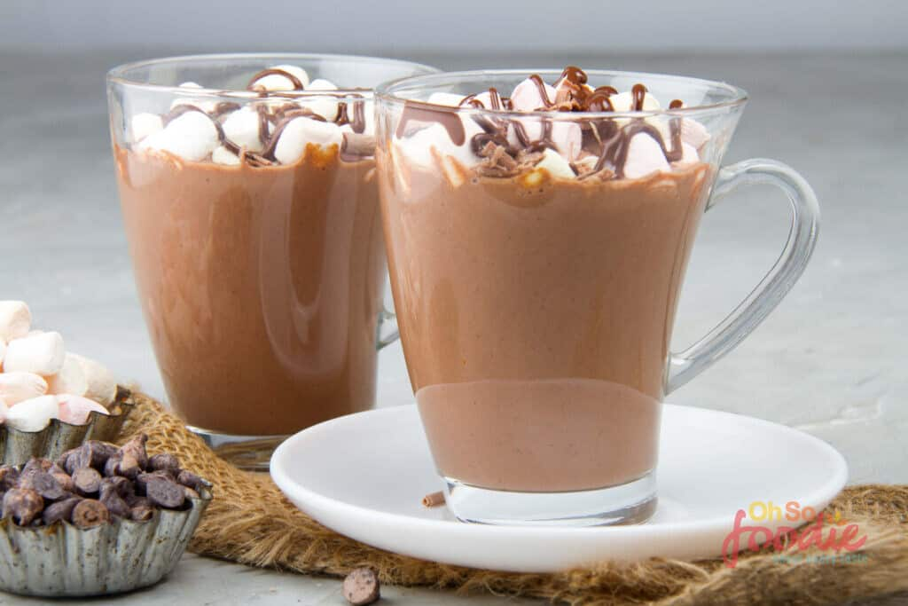 slow cooker keto hot chocolate