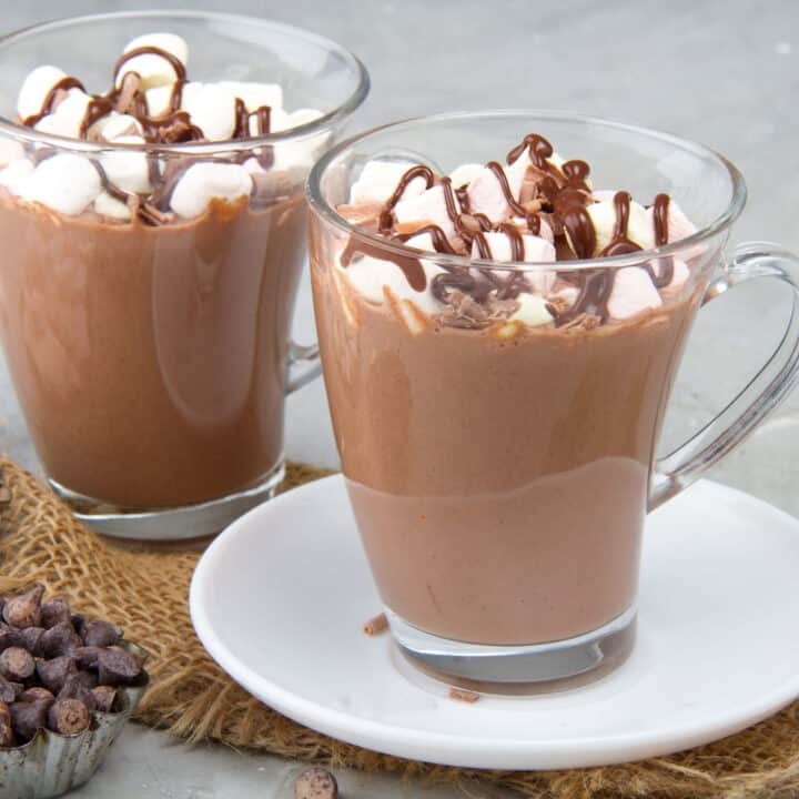 Keto Hot Chocolate Made In A Slow Cooker