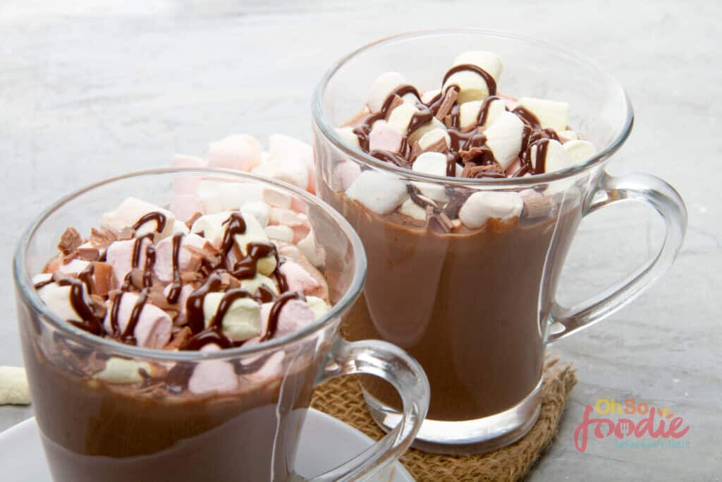 slow cooker low carb hot chocolate