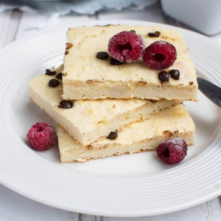 Easy Keto Sheet Pan Pancakes