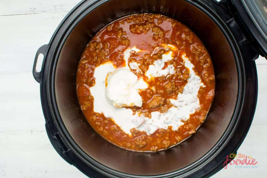 cooking keto taco beef soup in instant pit