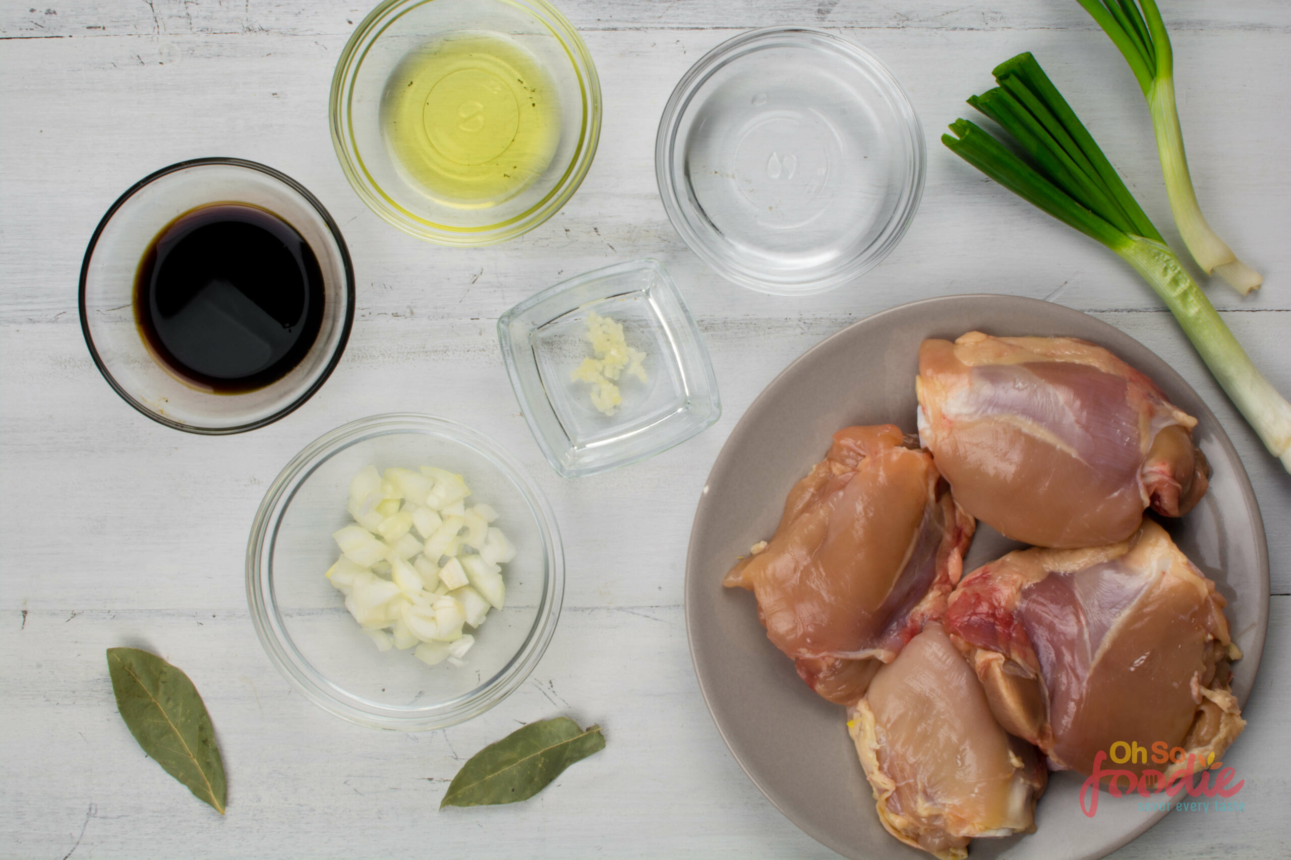 ingredients for keto chicken thighs