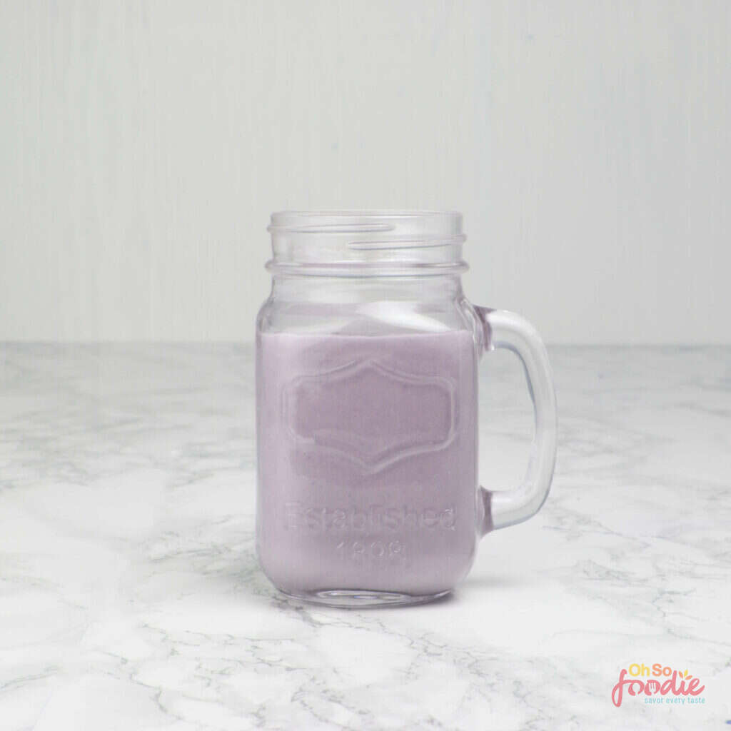 low carb blueberry smoothie