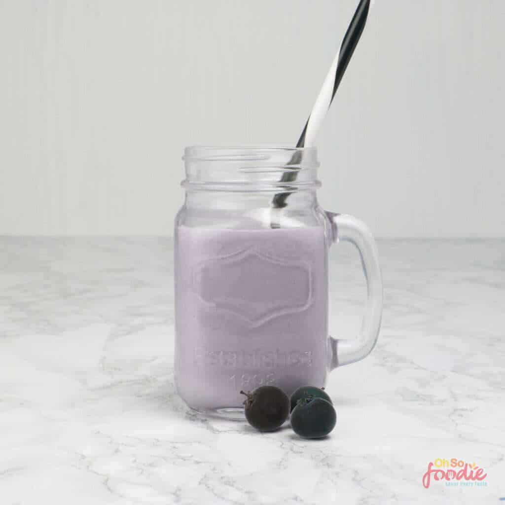 keto blueberry smoothie