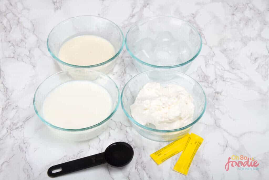 vanilla keto smoothie ingredients