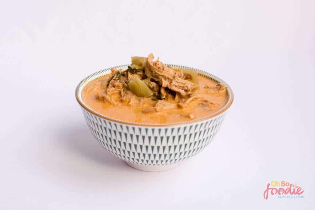 Instant Pot low carb Taco Chicken Soup
