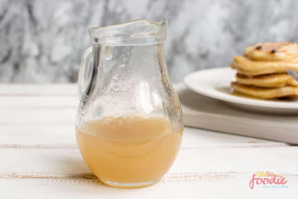 low carb pancake syrup