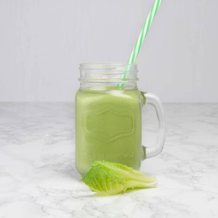 Keto Green Smoothie That Tastes So Good - 6g Net Carbs!