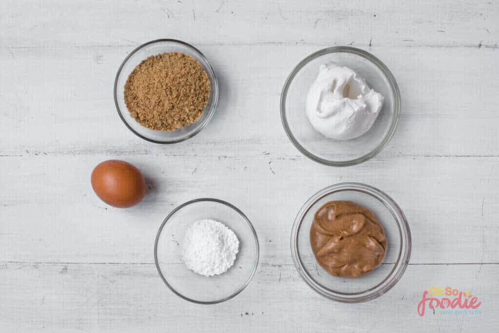ingredients for keto peanut butter cookies