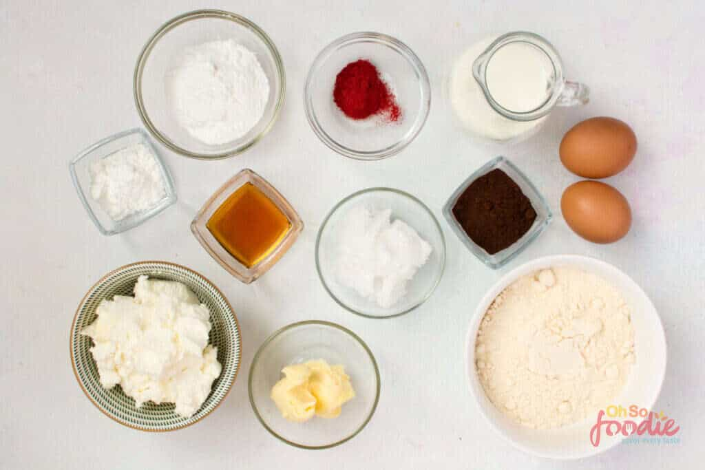 ingredients for keto cake