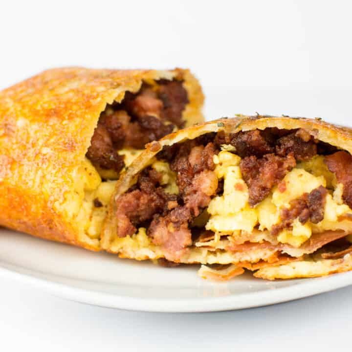 Keto Breakfast Burrito - The Best Keto Burrito Recipe