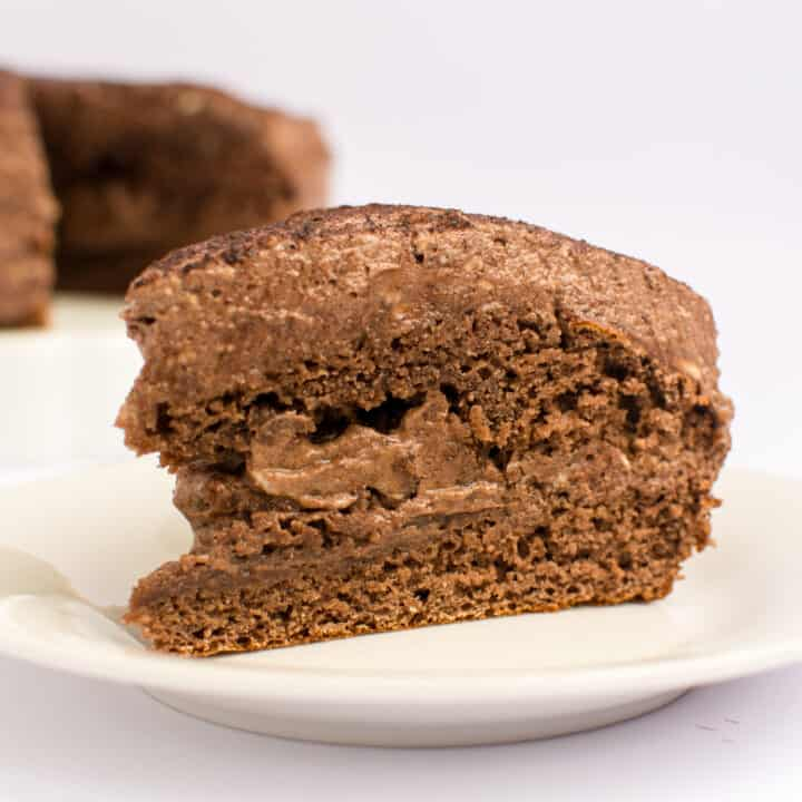Moist Keto Chocolate Cake With Chocolate Frosting