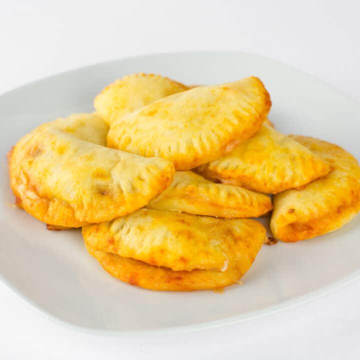 Mini Keto Calzones With Fathead Dough (Gluten Free)