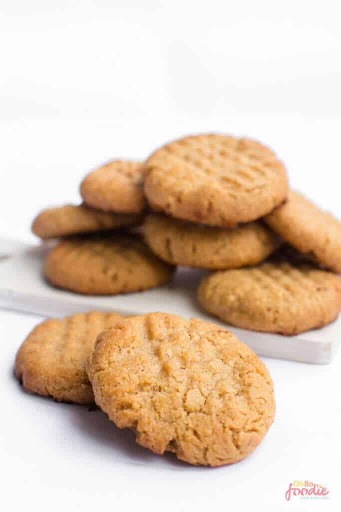 low carb almond butter cookies