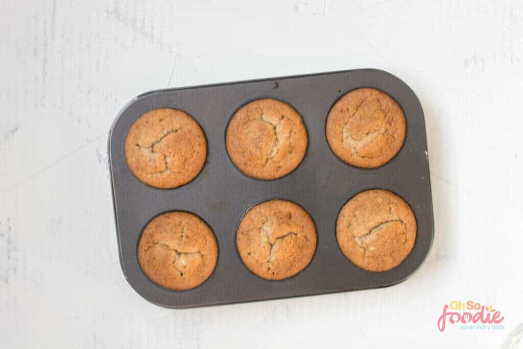 baked almond flour muffins