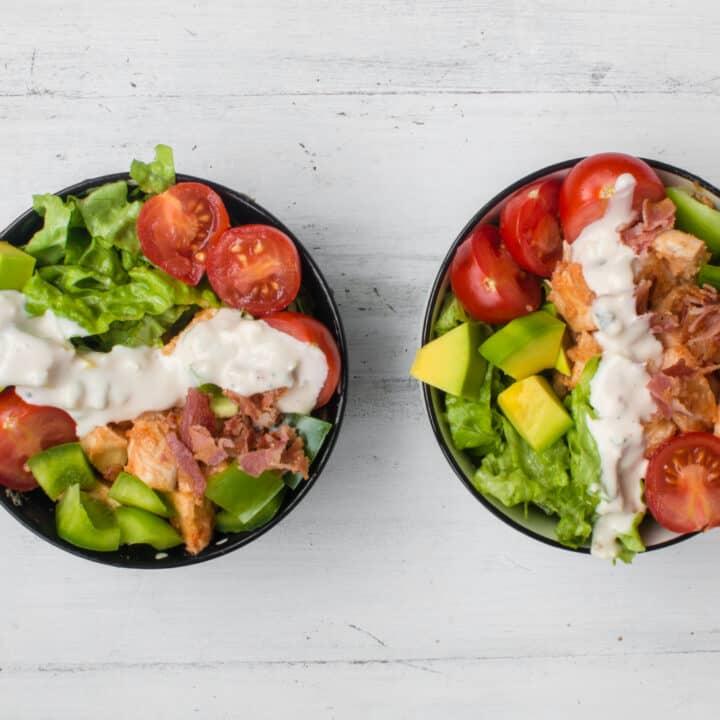 Keto Buffalo Chicken Salad