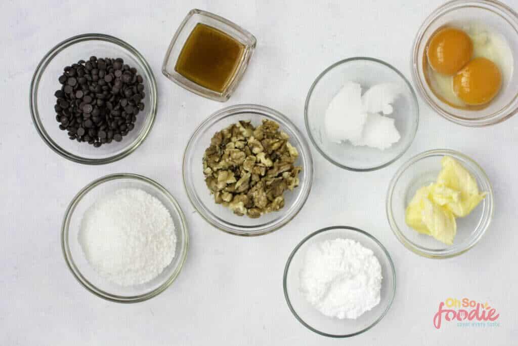 ingredients for keto magic cookies