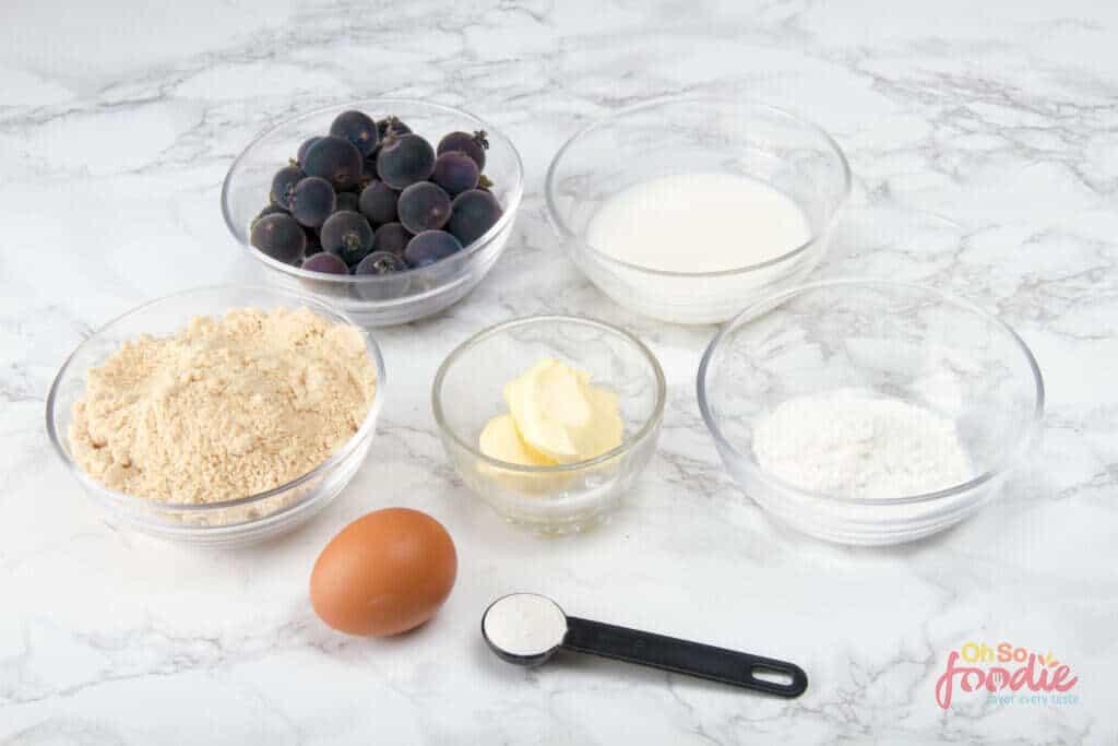blueberry pancakes ingredients
