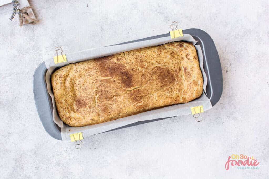 low carb egg loaf