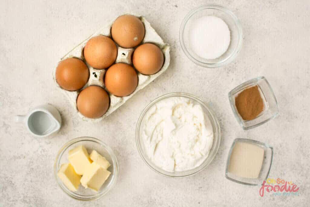 keto egg loaf ingredients