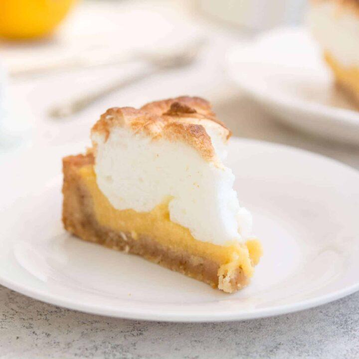 Keto Lemon Meringue Pie