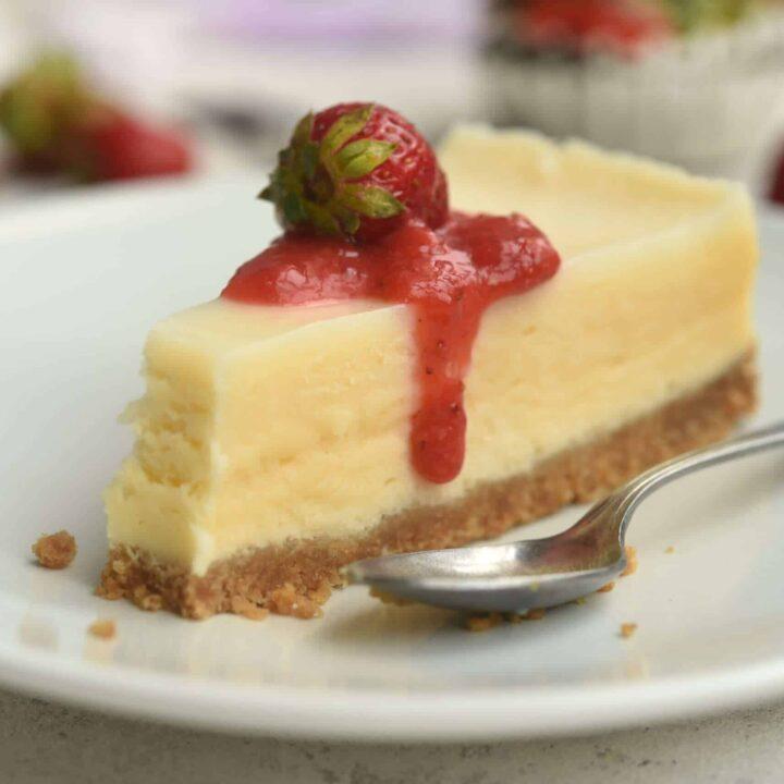 Keto Cheesecake - Amazing New York Style Cheesecake