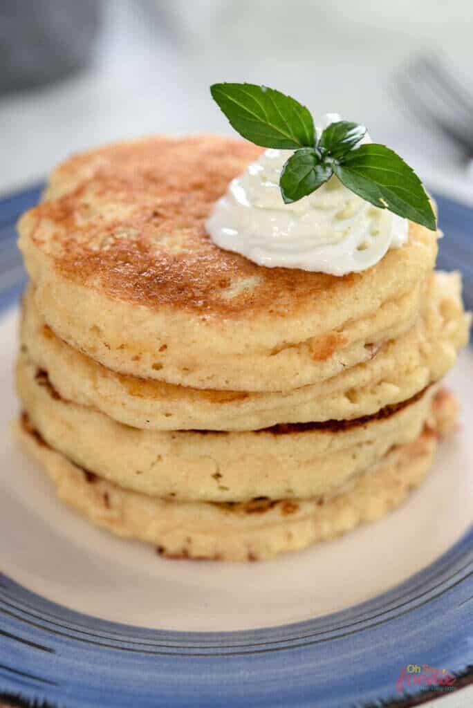 glutenfreie Sauerteigpfannkuchen