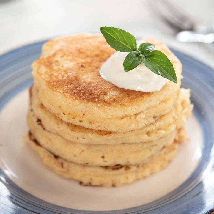 Gluten Free Keto Sourdough Pancakes From Starter