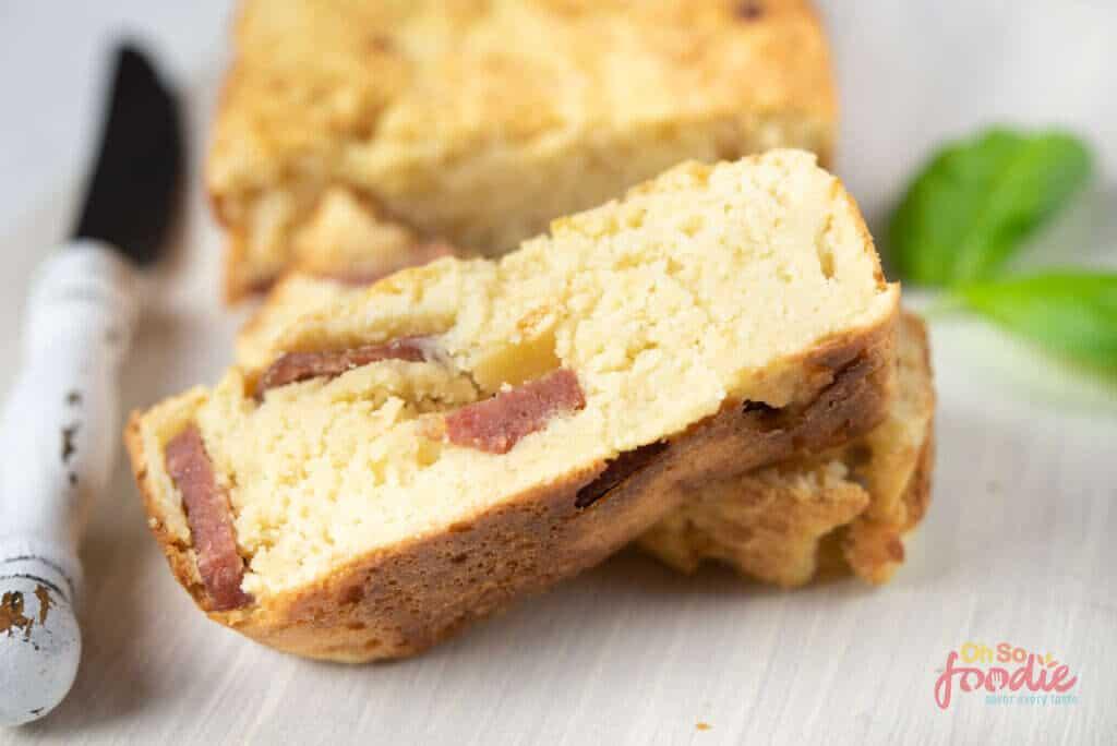 keto bacon and cheese bread