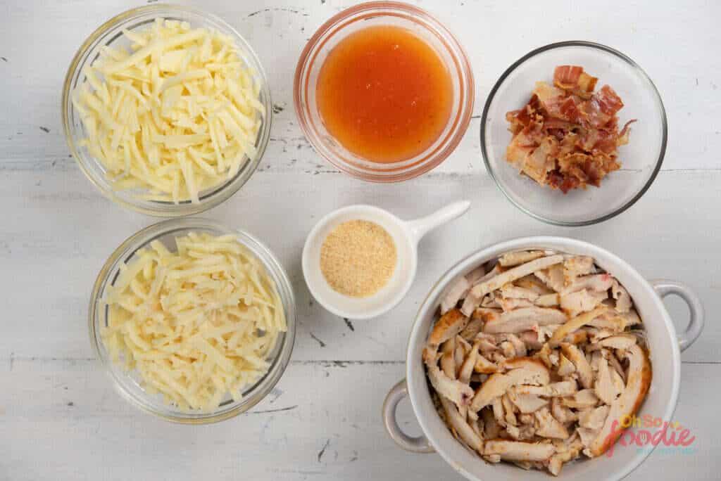 ingredients for keto chicken casserole