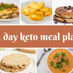 The BEST 3 Ingredient Keto Pancakes