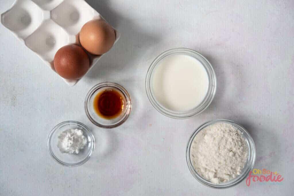 ingredients for 5 ingredient pancakes