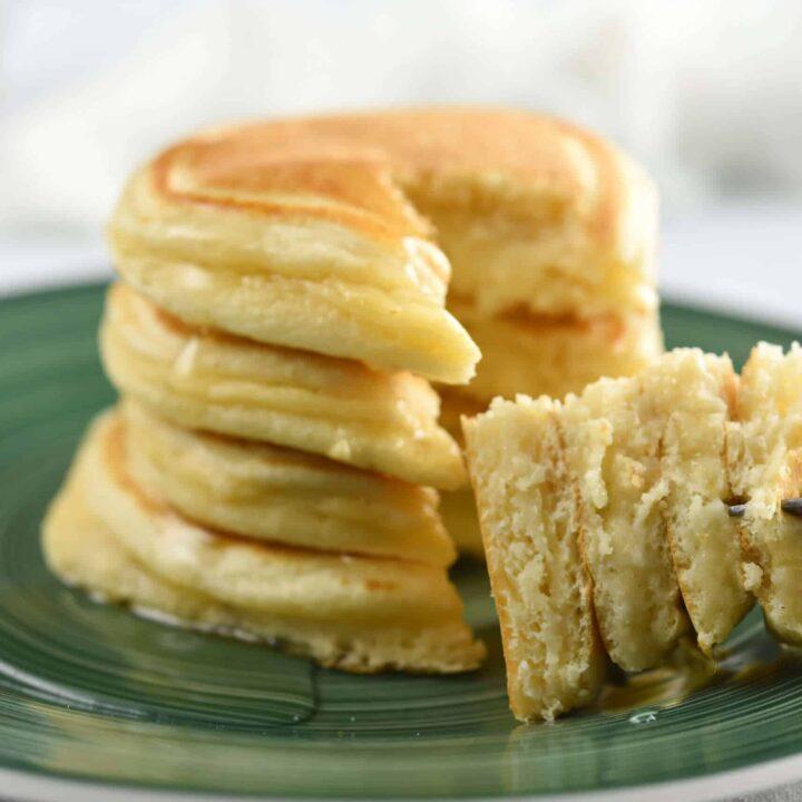 3 Ingredient Keto Pancakes