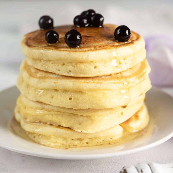 5 Ingredient Keto Pancakes With Almond Flour