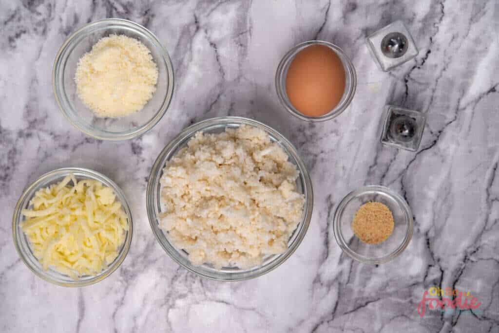 cauliflower hash brown ingredients