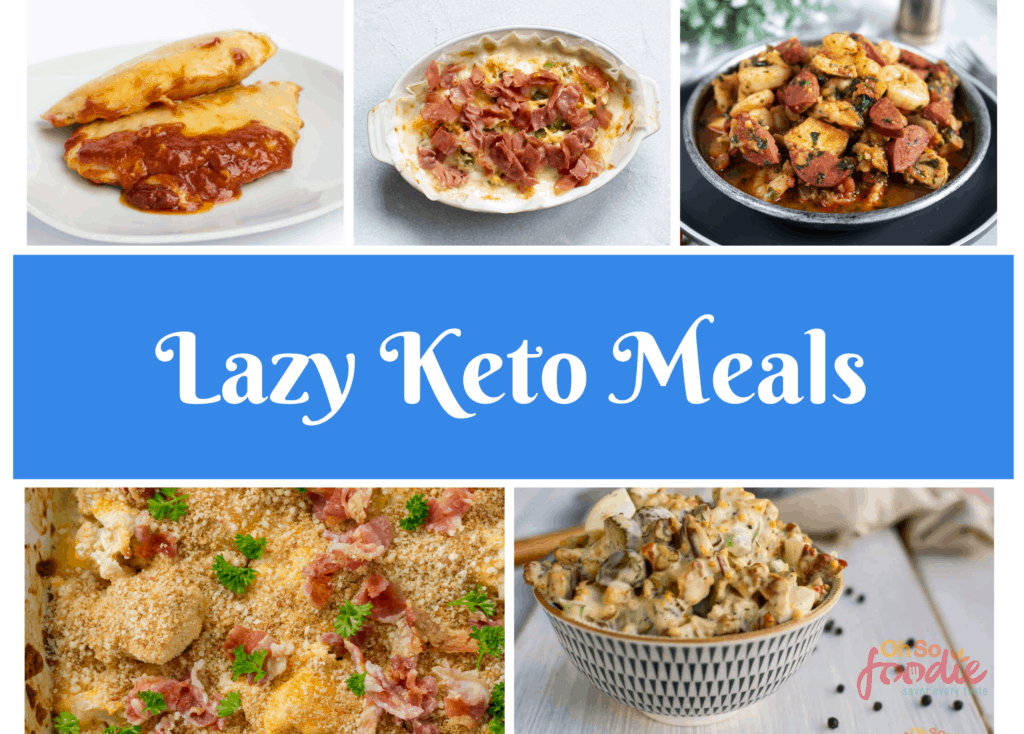 lazy keto meals