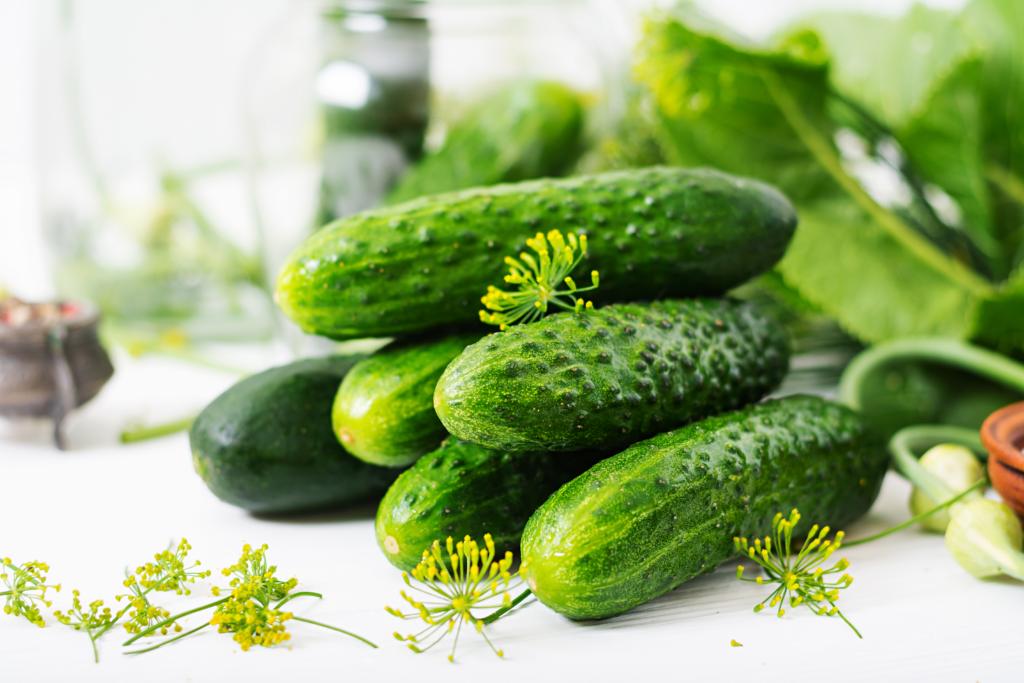 cucumbers on keto