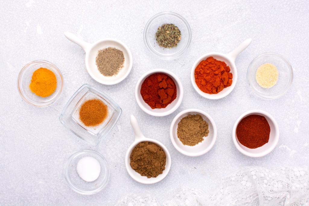 ingredients for southwest blend