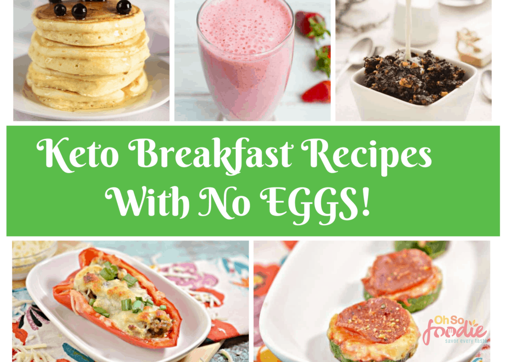 keto breakfast recipes without eggs