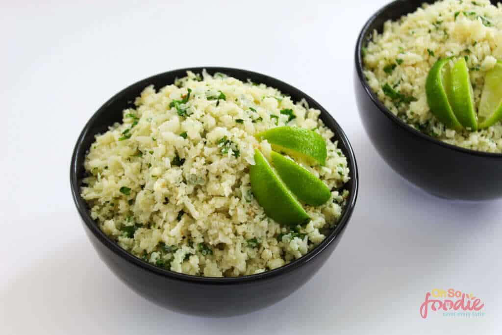 Cilantro Lime Cauliflower Rice (chipotle copycat)