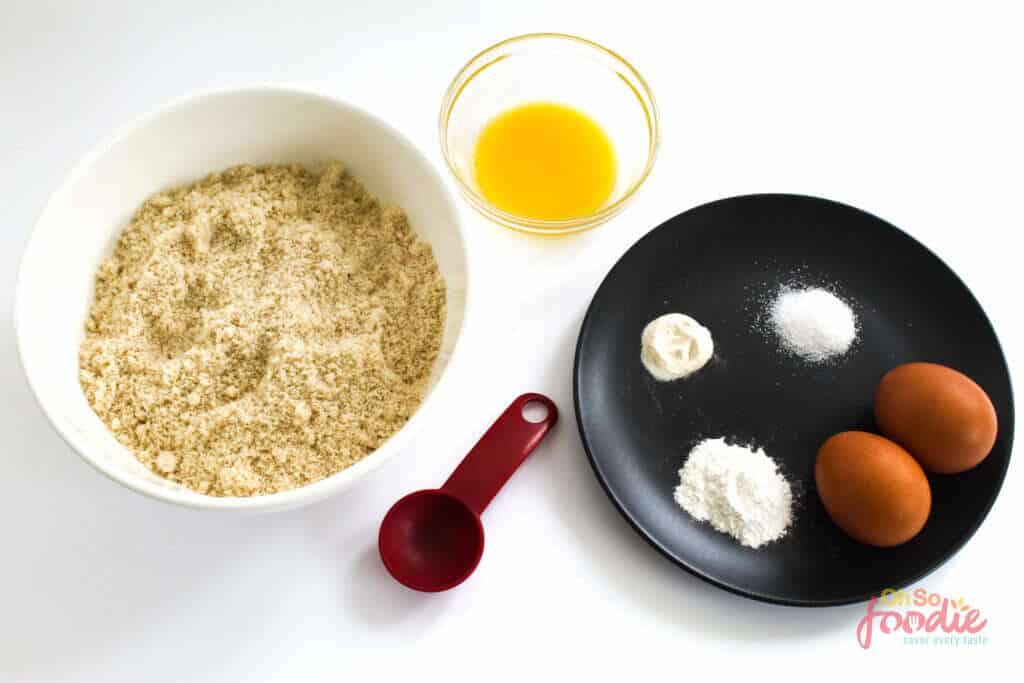 ingredients 90 second keto bread