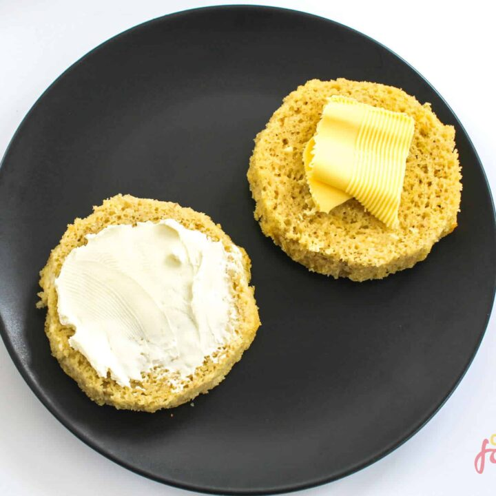 90 Second Keto Bread - Only 3.1g Net Carbs!