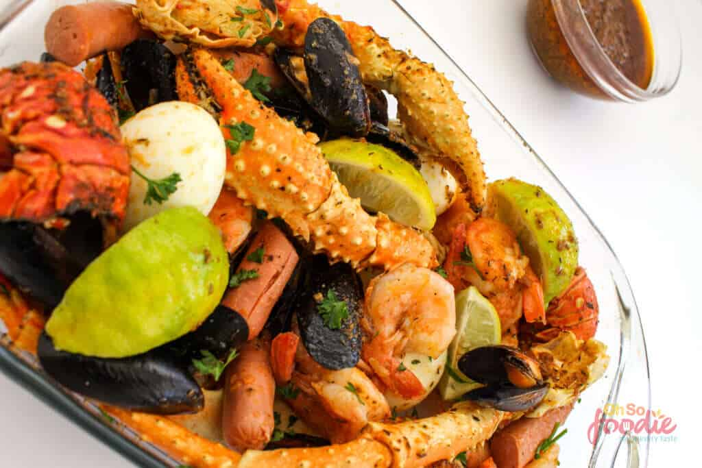 low carb seafood boil