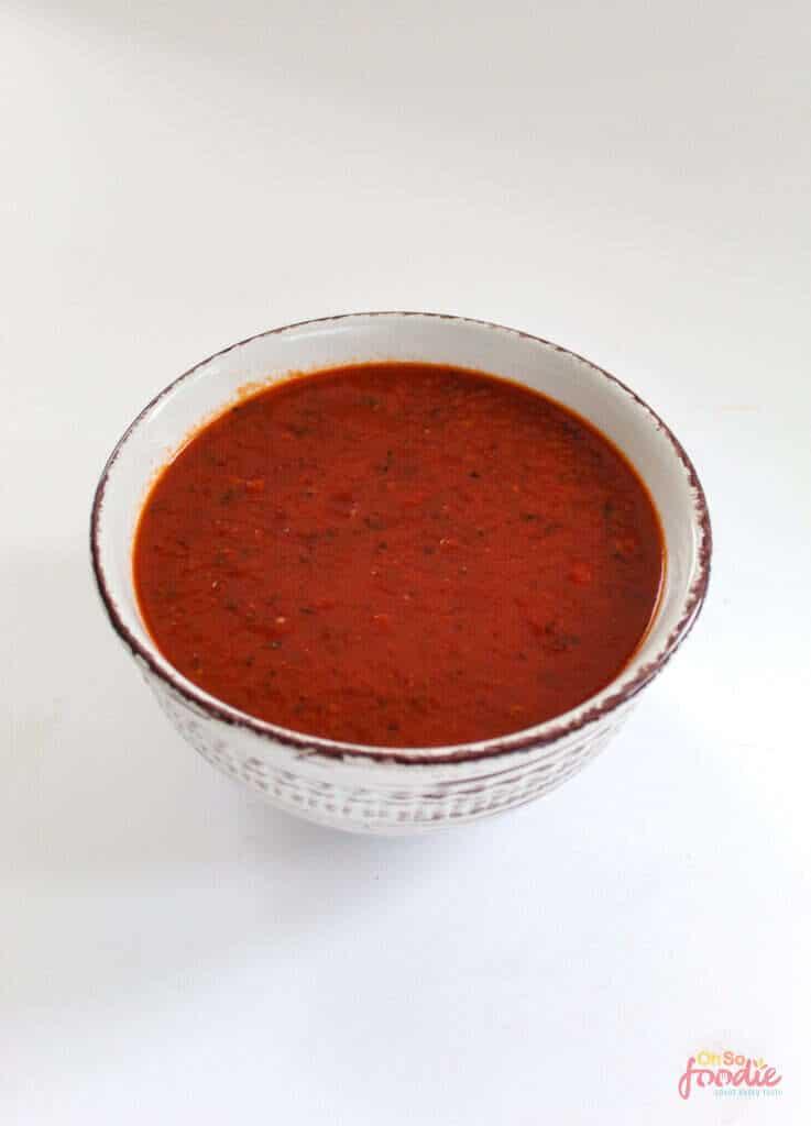 low carb marinara sauce