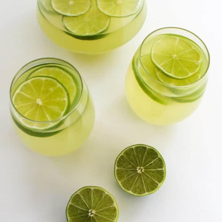 Refreshing Sugar-Free Keto Limeade